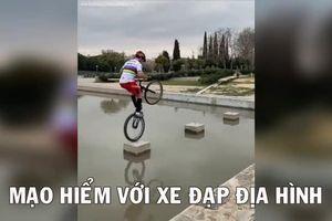 Video mạo hiểm với xe đạp địa hình