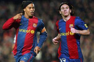 Xavi chỉ ra điểm khác biệt lớn nhất giữa Ronaldinho và Messi
