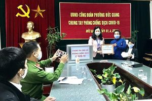 Một hộ dân quận Long Biên ủng hộ hơn 50 triệu đồng chống dịch Covid-19