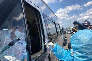TP Hồ Chí Minh ra quân kiểm tra y tế tại các trạm chốt chống dịch Covid-19