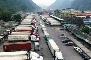 Đề nghị không để gián đoạn hàng hóa tại các cửa khẩu biên giới Việt - Trung