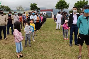Gần 3.000 người tiếp xúc F2, F3 ở Lai Châu hoàn thành nghĩa vụ cách ly