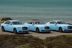 Choáng ngợp với dàn xe siêu sang Rolls-Royce 'khoác áo xanh'