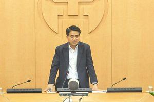 Chủ tịch Hà Nội: Làm rõ, công khai nguồn gốc và việc lây nhiễm chéo Covid -19 tại bệnh viện Bạch Mai