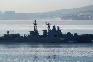 Nga tập trận hải quân quy mô lớn trước lực lượng Mỹ ở Địa Trung Hải