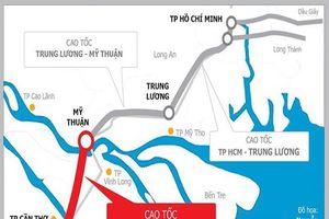 Không ghép cao tốc Mỹ Thuận - Cần Thơ vào một dự án khác