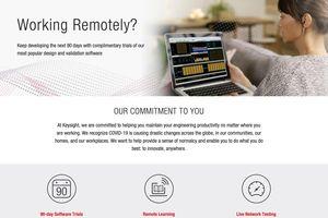 Keysight cung cấp công cụ 90 ngày sáng tạo mọi nơi