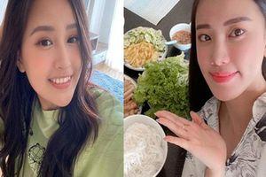 Hoa hậu Mai Phương Thúy bật mí cuộc sống ở nhà chỉ ăn ngủ
