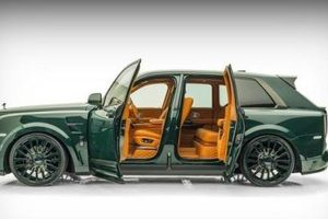 Rolls-Royce Cullinan 'lột xác' hoàn toàn sau khi qua tay hãng độ Mansory