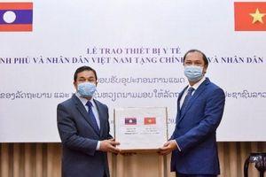 Bộ trưởng Y tế Lào cảm ơn Việt Nam hỗ trợ phòng chống Covid-19