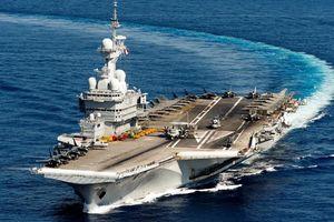 Tàu sân bay Pháp Charles de Gaulle về cảng vì 40 thủy thủ nghi nhiễm Covid-19