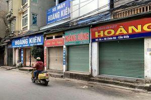 Nhiều cửa hàng xe máy cũ đóng cửa, khách ít, chuyển sang bán online