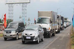 Duy tu cầu Rạch Miễu: Điều tiết giao thông 1 chiều từ 8-4