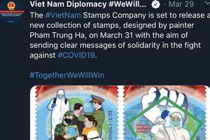 Báo Anh: Họa sĩ Việt Nam 'tiếp lửa' cho cuộc chiến chống Covid-19