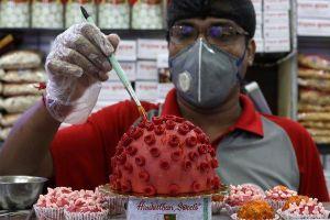 Tiệm bánh Ấn Độ gây tranh cãi vì bán sản phẩm hình virus corona