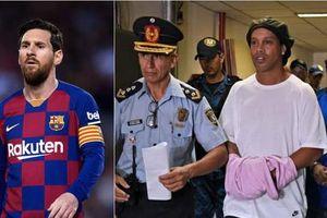 Chính Messi là người đã giải cứu anh trai nuôi Ronaldinho?