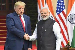 Tổng thống Mỹ cảm ơn Ấn Độ vì hợp tác đối phó Covid-19