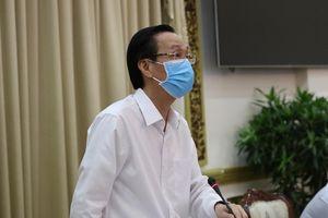 TP.HCM phạt 2.482 trường hợp không đeo khẩu trang, thu 496 triệu đồng