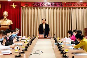 Bí thư Thành ủy Hà Nội Vương Đình Huệ chỉ đạo tăng cường hiệu quả công tác truyền thông