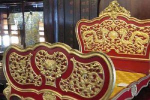 Long sàng dát vàng của vị hoàng đế tai tiếng bậc nhất triều Nguyễn