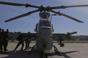 Mỹ khoe AH-1Z Viper về khả năng đánh chặn như tiêm kích