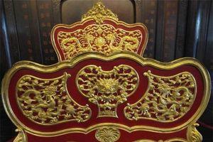 Cận cảnh long sàng dát vàng của vị hoàng đế Khải Định