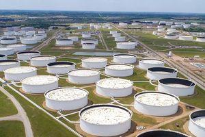 Hình ảnh hiếm hoi về các kho dự trữ dầu 'siêu khủng' ở Mỹ không còn chỗ chứa