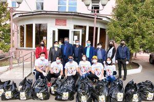 Người Việt ở Voronezh lan tỏa tinh thần sẻ chia trong dịch COVID-19