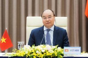 Thủ tướng tham dự hội nghị 'Đoàn kết ứng phó đại dịch Covid-19'