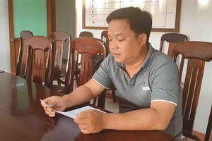 Khởi tố nguyên Trưởng phòng Tài nguyên và Môi trường thị xã Sông Cầu (Phú Yên)