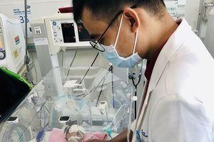 Cứu sống trẻ sinh non bị tắc ruột