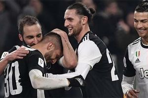 Higuain và Rabiot chưa trở lại Juventus