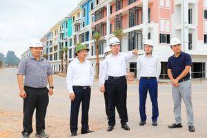 Bí thư Tỉnh ủy Nguyễn Xuân Ký kiểm tra hạ tầng tại Khu kinh tế Vân Đồn