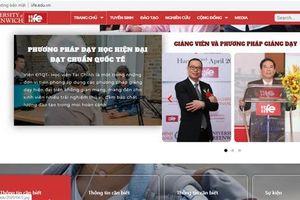 Viện Đào tạo Quốc tế (Học viện Tài chính): Khai trương Website phiên bản 2020