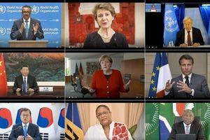 Những sự cố bất ngờ tại hội nghị trực tuyến về Covid-19 của Đại hội đồng Y tế thế giới