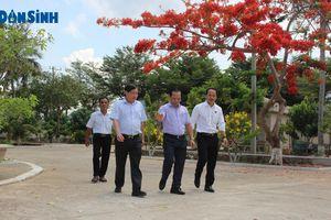Lãnh đạo Cục Người có công đánh giá cao môi trường tại Trung tâm điều dưỡng Thương binh nặng và người có công Long Đất