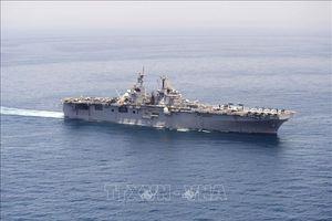 Hải quân Mỹ cảnh báo các tàu ở vùng Vịnh giữ khoảng cách với tàu chiến nước này