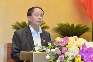 Đại tướng Ngô Xuân Lịch trình Luật Biên phòng
