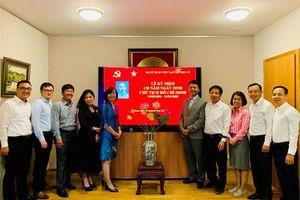 Long trọng tổ chức lễ kỷ niệm 130 năm Ngày sinh của Chủ tịch Hồ Chí Minh tại Thụy Sỹ