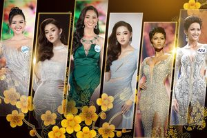 So kè váy dạ hội đăng quang - xuất ngoại: Tường San đẹp tuyệt trần, H'Hen Niê tỏa sáng rực rỡ