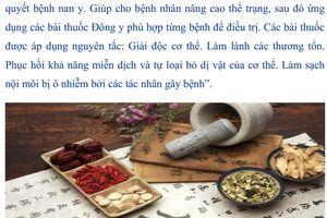 Lương y Nguyễn Văn Tùy với bài thuốc hỗ trợ, điều trị bệnh ung thư, hen suyễn, xương khớp, đại tràng