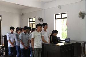 10 đối tượng tham gia sới bạc trên đồi keo bị tuyên 89 tháng tù giam