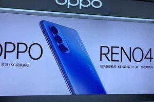 Oppo Reno4 rò rỉ có camera 'bếp than tổ ong' gần giống iPhone