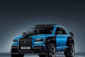 'Rolls-Royce Nga' lột xác thành SUV chạy rally