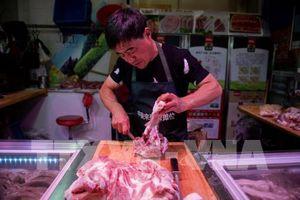 Lượng thịt lợn nhập khẩu vào Trung Quốc tăng gần gấp đôi cùng kỳ