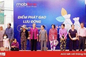 MobiFone An Giang tặng 6 tấn gạo cho người dân có hoàn cảnh khó khăn