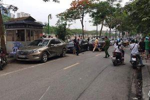 Điều tra vụ nữ lái xe gây tai nạn liên hoàn tại Cầu Giấy, Hà Nội