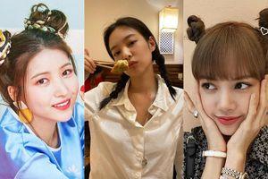 Xinh xắn, trẻ trung lại 'bao' mát, bảo sao các nữ idol thích buộc tóc kiểu 'bé gái'