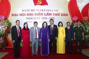 Ông Lê Anh Quân tiếp tục được bầu giữ chức vụ Bí thư Huyện ủy Gia Lâm