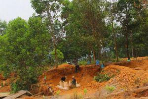 Khai thác vàng trái phép ở mỏ vàng Bồng Miêu diễn biến phức tạp